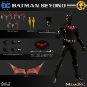 Mezco DC Comics Exclusive Batman Beyond Super Hero Classic One:12 Quality Action Figure 112