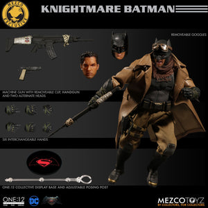 Mezco Exclusive One:12 Knightmare Batman Ben Affleck BVS Quality Action Figure 1:12 DC Comics 112