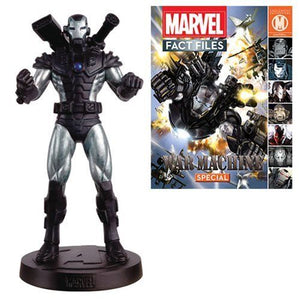Marvel Fact Files War Machine Figure Comic Magazine Eaglemoss Collectible #24