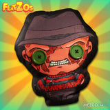 Nightmare On Elmstreet Freddy Krueger Doll Flatzos Plush Button Eyes 12 Inches Mezco Toyz