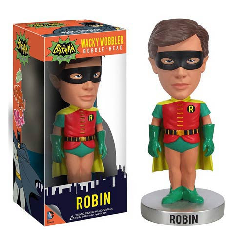 Funko Batman's Robin 1966 Batman TV Series Collectible Bobblehead Wacky Bobble Nodder