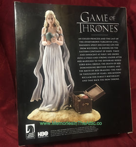 Game of Thrones Dark Horse HBO DAENERYS TARGARYEN Figure Chest Eggs Emilia Clark