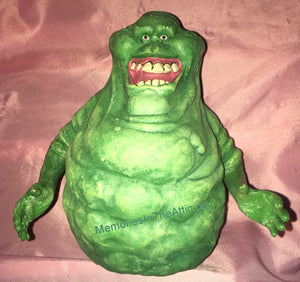 "Diamond Select Toys Ghostbusters Slimer Glow In The Dark Ghost Vinyl Bust Bank 8"" Statue"