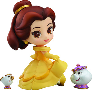 NENDOROID Good Smile Disney's Beauty And The Beast Belle PVC Action Figure Teacup 755