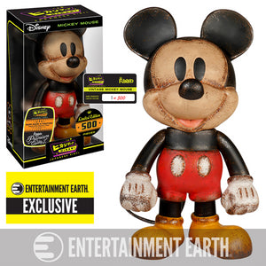 Funko Limited 500 Hikari Sofubi Disney Mickey Mouse Vintage Vinyl Entertainment Earth Exclusive