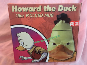 PX Exclusive Ceramic Style Mavel Comics Howard The Duck Coffee 16oz Molded Mug