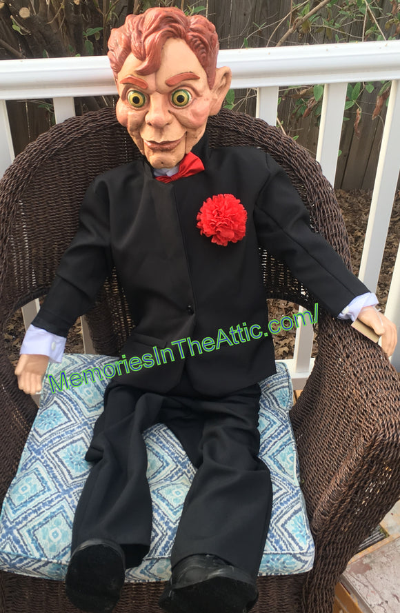 Trick Or Treat Studios Goosebumps Slappy Hand Puppet Quality Movie Style Prop 47