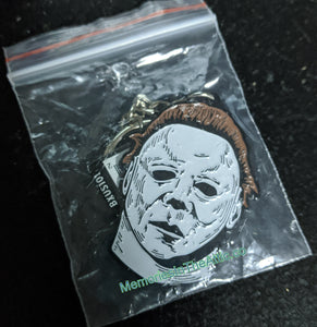 Trick Or Treat Studios Halloween 2 Michael Myers Mask Horror Keychain