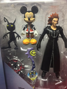 Diamond Select Disney Kingom Of Hearts Mickey Mouse Axel Shadow Action Figures