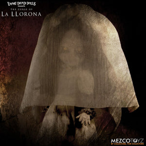 "Living Dead Doll Mezco The Curse Of La Llorona Weping Woman The Conjuring 10"" LDD"