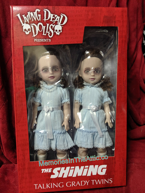 The Shining Grady Twins Talking Mezco Living Dead Dolls 10