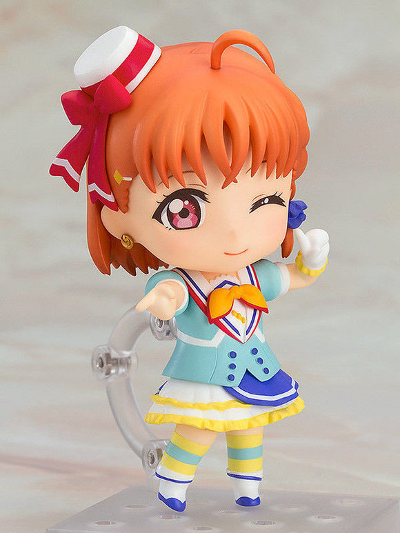 LOVE LIVE SUNSHINE CHIKA TAKAMI NENDOROID #680 Anime Action Figure 2 Faces+