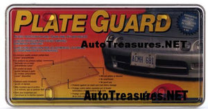 Quality Car Auto Truck Van The Best License Plate Smoke Cover USA Plate Guard