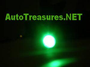 License Plate Frame Screws Green Motorcycle Car Truck LED Lighted Bolts