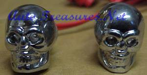 Skull Car Light License Plate Frame Screws Blue Hearse Motorcycle Truck Hearse