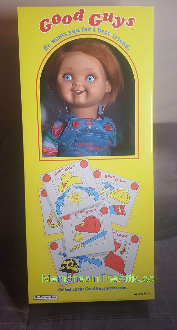 Trick Or Treat Studios Childs Play Chucky  Life Size Prop Good Guy Face