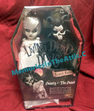 "Living Dead Doll Mezco Toyz Beauty And The Beast 10"" Dolls LDD"