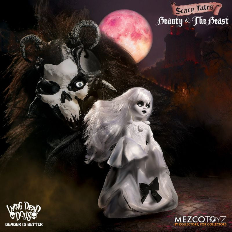 "Living Dead Doll Mezco Toyz Beauty And The Beast 10"" Dolls"