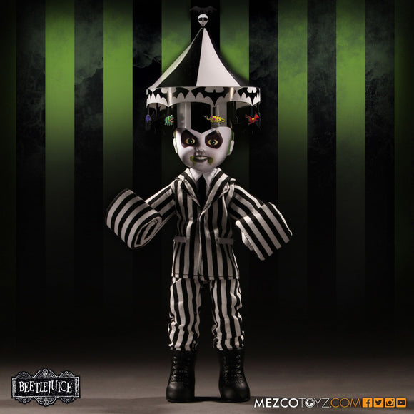 Living Dead Doll Mezco Beetlejuice Showtime Doll Tim Burtons Michael Keaton LDD