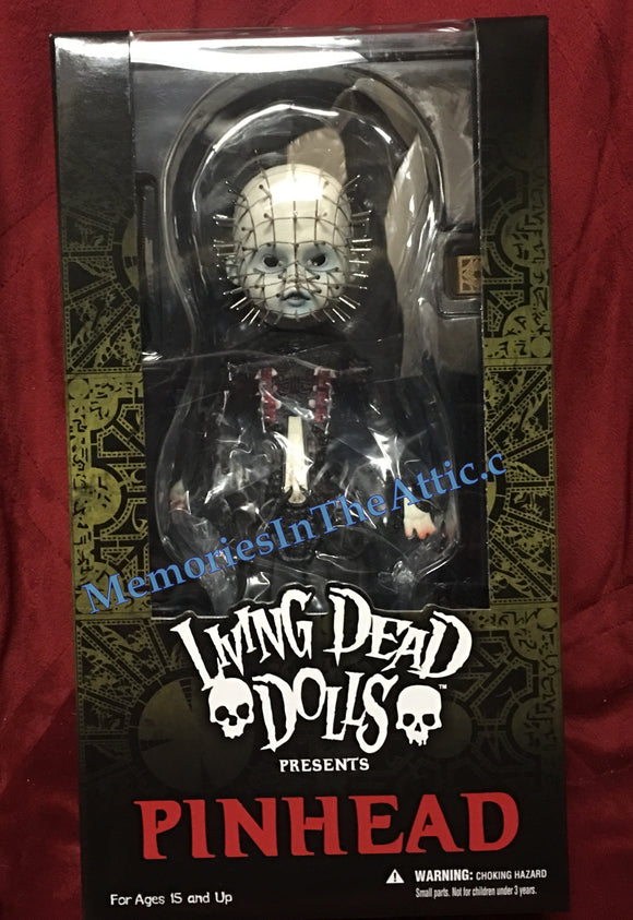 Living Dead Dolls Mezco Hellraiser High Priest Pinhead Cenobites Doll LDD