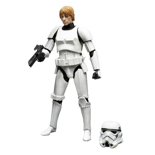 Hasbro Star Wars Luke Skywalker Black Series Action Disguise StormTrooper Jedi Knight