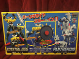 Evolution Toys Metal Action Steel Jeeg & Pantheroid ABS & PVC Figure