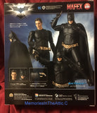 Medicom Mafex No 049 DC Comics Batman Begins Suit Action Figure Guns Batarangs Dark Knight