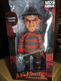 "Mezco Mega Scale 15"" Talking Freddy Krueger A Nightmare On Elm Street Doll 2019 MDS"