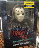 "Mezco EE Exclusive Glow In The Dark Friday The 13th Jason Vorhees 6"" Mezco Stylized Figure"