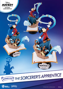 Disney's Mickey Mouse Sorcerer's APPRENTICE PX Exclusive 6IN STATUE Beast Kingdom