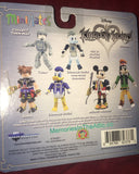 Disney Kingdom Hearts Minimates Series 1 Sora & Donald Duck 2 Figures Diamond
