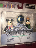 Disney Kingdom Hearts Minimates Series 1 Mickey & Goofy 2 Figures Diamond