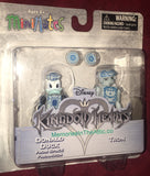 Disney Kingdom Hearts Minimates Series 1 Space Paranoid Donald Duck & Tron 2 Figures Diamond