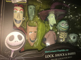 Disney Nightmare Before Christmas Lock, Shock & Barrel Deluxe Action Figure Set