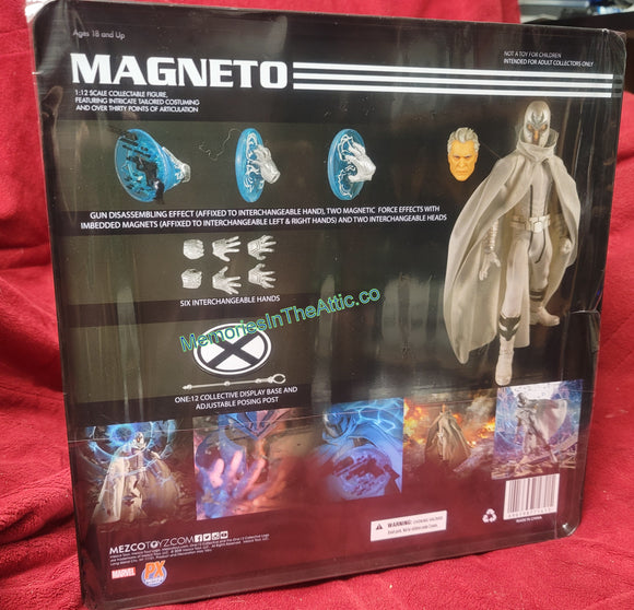 Mezco Toyz One:12 Collective PX Exclusive Marvel Magneto Quality Action Figure 1:12 112