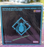 Mezco One:12 PX Preview Exclusive Spiderman Far From home Stealth Action Figure 1:12 Marvel