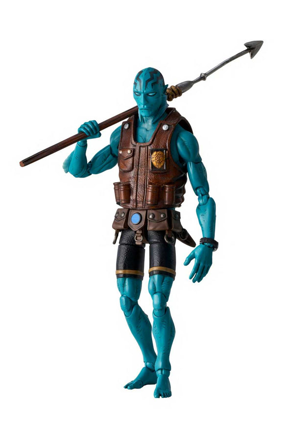 1000 Toys 1/12 scale Hellboy Abe Sapien Previews Exclusive Action Figure PVC ONE:12 112
