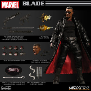 Mezco One:12 Collective Blade Eric Brooks Vampire Hunter Quality Action Figure 1:12 112