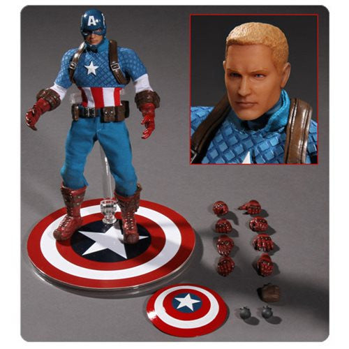 Mezco Marvel Steve Rogers Captain America One:12 Quality Action Figure 112