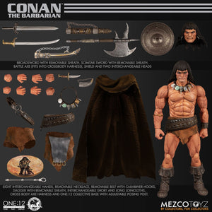 Mezco One:12 Collective Collector Conan The Barbarian Robert E Howard's Action Figures 112