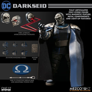 Mezco One:12 Collective Collector 1:12 DC Comics Darkseid Apokolips Dictator Quality Action Figure 112