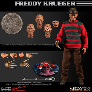 Mezco One:12 Nightmare On Elm Street Freddy Kruger 1984 Quality Action Figure 112