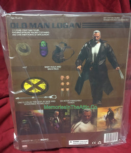 Mezco One:12 Old Man Logan Wolverine Baby Hulk Quality Action Figure 1:12 Marvel Comics 112