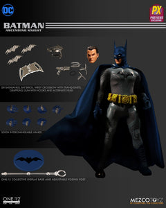 Mezco One:12 PX Preview Exclusive Ascending Knight Batman Action Figure 1:12 DC Comics 112