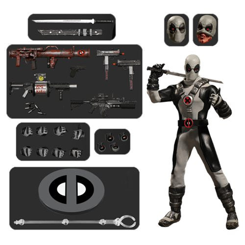 Mezco One:12 PX Preview Exclusive Deadpool Action Figure 1:12 DC Comics 112