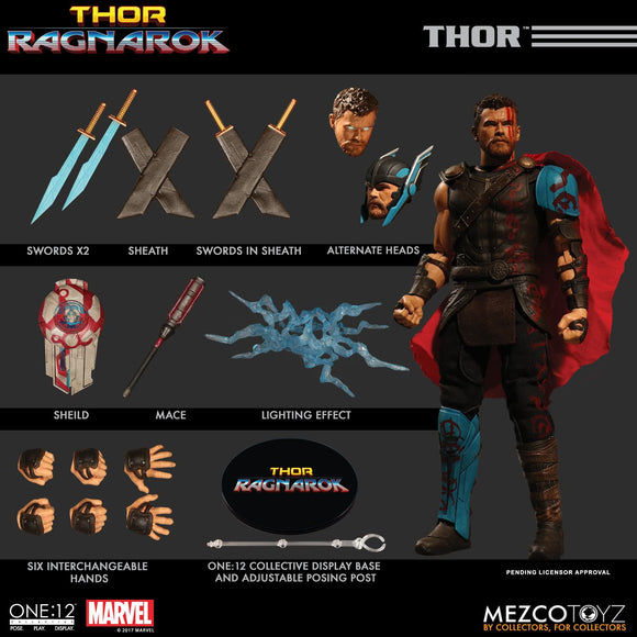 Mezco One:12 One:12 Collective Ragnarok Movie THOR 6