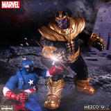 Mezco One:12 Collective Collector Marvel Comics Thanos Gauntlets Cosmic Cube Action Figures 112