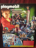 Playmobile Ghostbusters Large Firehouse Station Set 228 Pieces