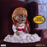 "Mezco Toyz MDS Stylized Annabelle Halloween 6"" Conjuring Scary Possessed LDD"