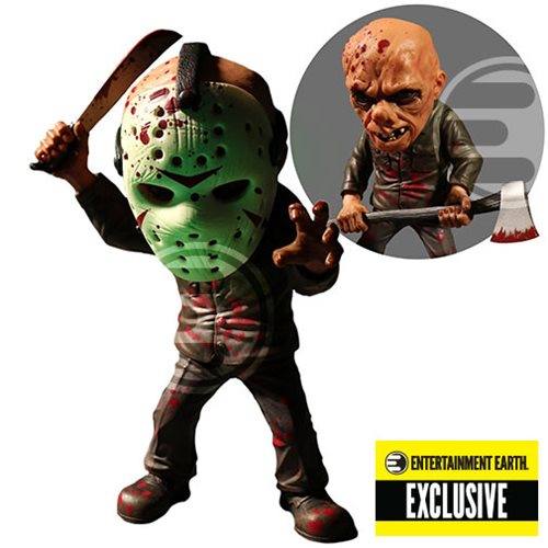 Mezco EE Exclusive Glow In The Dark Friday The 13th Jason Vorhees 6
